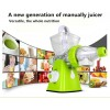 Manual Fruit Juicer Green Color