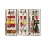 Bag Rack Over Door Straps Hanger Handbags Clothes Organizer