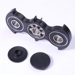 Spinner Batman Handspinner Fidget Toy Focus Anti Stress Black Color