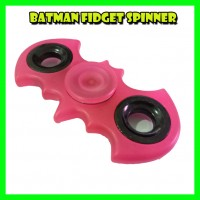 SPINNER BATMAN HAND-SPINNER FIDGET TOY FOCUS ANTI STRESS TRANSPARENT COLOR