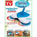 HURRICANE SPIN BROOM NEW SWEEPER NO POWER REQUIRED
